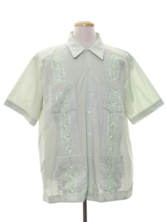 1980's Mens Guyaberra Shirt