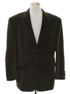 1980's Mens Corduroy Blazer Sportcoat Jacket