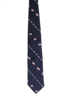 1970's Mens Bicentennial Wide Disco Necktie