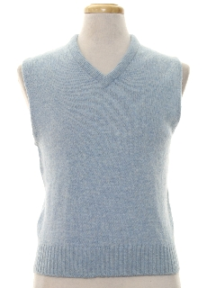 1970's Mens Wool Sweater Vest