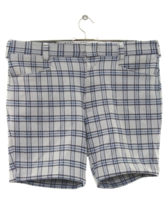 1970's Mens Leisure Style Saturday Shorts