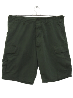 1980's Mens Uniform Cargo Shorts