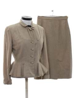 1950's Womens Fab Fifties Designer Suit