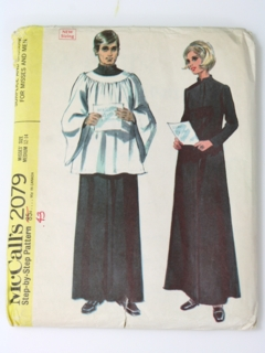 1960's Unisex Pattern