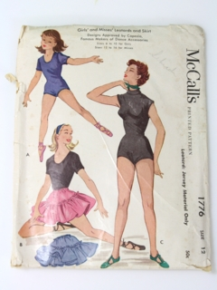 1950's Womens and Girls Pattern