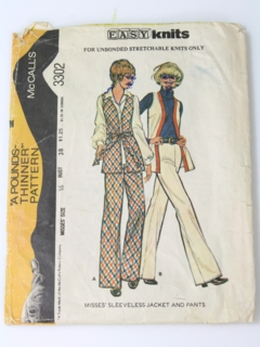 1970's Womens Mod Pattern