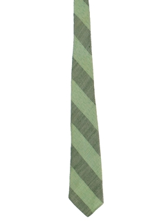 1940's Mens Wide Diagonal Stripe Necktie