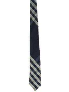 1950's Mens Diagonal Striped Necktie