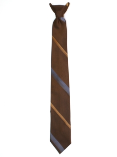 1960's Mens Clip-on Necktie