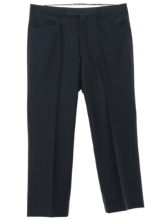 1960's Mens Mod Leisure Style Flat Front Slacks Pants