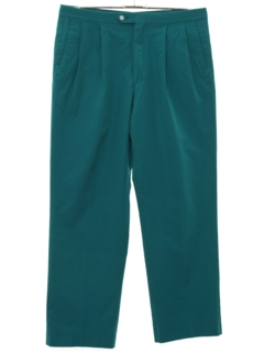 1980's Mens Totally 80s Pleated Golf Pants