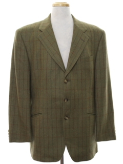 1980's Mens Totally 80s Mod Blazer Sport Coat Jacket
