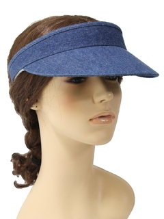 1980's Womens Accessories - Totally 80s Visor Hat