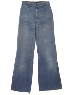 1970's Womens Bellbottom Jeans Denim Pants