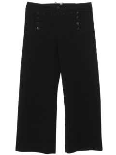 1980's Mens Navy Issue Bellbottom Pants