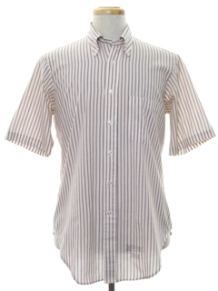 1950's Mens Mod Preppy Shirt