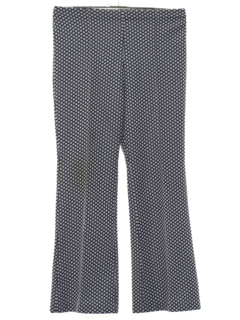 1970's Womens Bellbottom Style Flared Knit Pants
