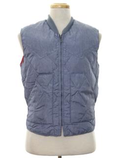 1980's Mens Western Style Ski Vest Jacket
