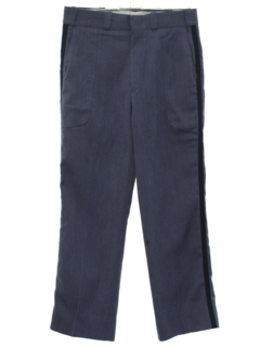 1960's Mens Uniform Band Style Slacks Pants