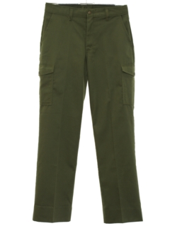1980's Mens Boy Scout Slacks Pants