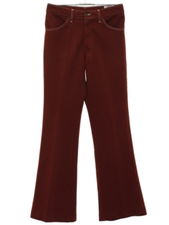 1970's Mens Bellbottom Style Flared Jeans-cut Pants