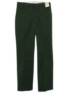 1980's Mens Uniform Slacks Pants