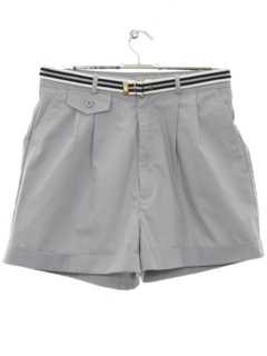 1980's Womens Totally 80s Preppy Shorts