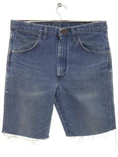 1980's Mens Cut Off Denim Shorts