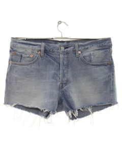 1990's Womens Cut Off Levis Denim Shorts