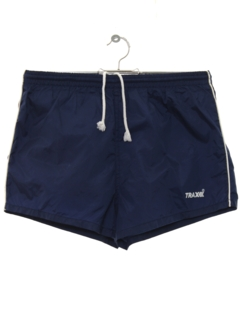 1980's Mens Totally 80s Running Sport Shorts