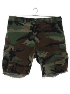 1980's Mens Army Sport Shorts