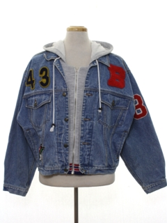 1980's Mens Totally 80s Denim Jacket