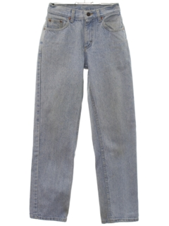 1980's Womens Tapered Leg Stone Washed Totally 80s Jeans Pants