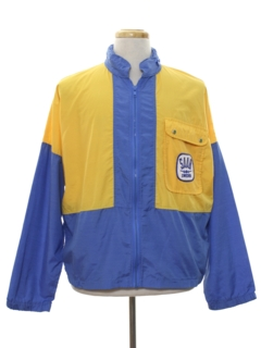 1970's Mens Mod SAAB Racing Jacket