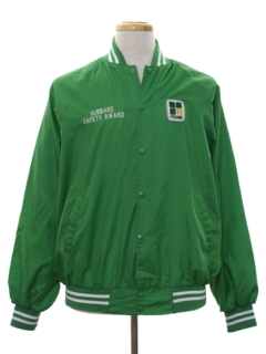 1970's Mens Work Style Baseball Jacket