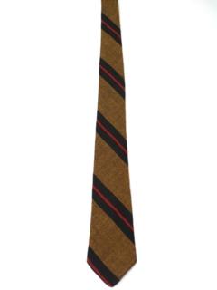 1960's Mens Diagonal Necktie