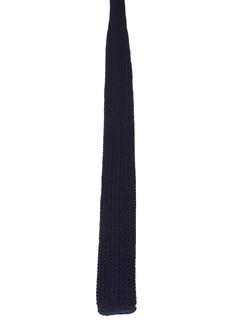 1950's Mens Skinny Mod Flat Bottom Necktie