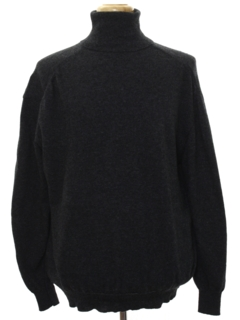 1980's Mens Turtleneck Sweater