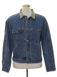 1990's Mens Designer Denim Jacket