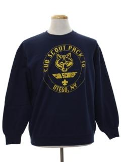 1990's Mens Cub Scout Sweatshirt