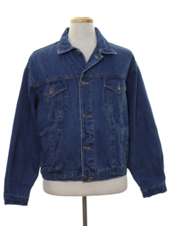 1980's Mens Denim Jacket
