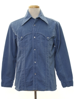 1970's Mens Denim Western Leisure Jacket