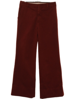 1970's Mens Bellbottom Flared Pants