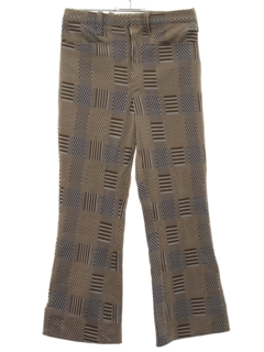 1960's Mens/Boys Flared Leisure Pants