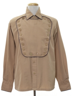 1920's Mens Pioneer Calvary Style Western Shirt