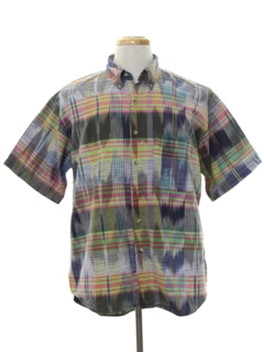 1980's Mens Totally 80s Hippie Style Shirt