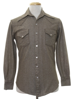 1970's Mens Western Style Shirt Jacket