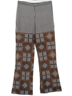 1960's Womens Mod Hippie Pants