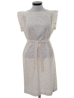 1970's Womens Preppie Dress