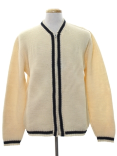 1950's Mens Mod Sweater